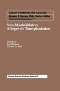 Non-Myeloablative Allogeneic Transplantation