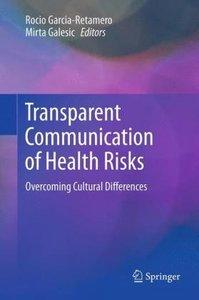 Transparent Communication of Health Risks