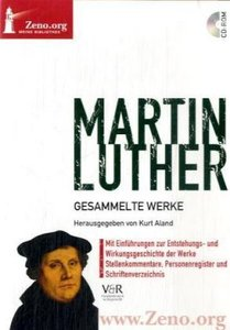 Martin Luther: Gesammelte Werke, MS Windows Vista, XP, 2000, NT,