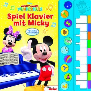 Spiel Klavier mit Micky - Disney Junior Liederbuch mit Klavierta
