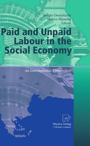 Paid and Unpaid Labour in the Social Economy