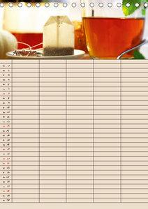 Tee - Liebhaber Jahresplaner (Tischkalender 2019 DIN A5 hoch)