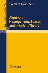 Algebraic Homogeneous Spaces and Invariant Theory