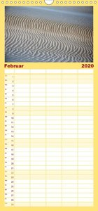 Namibias Wüste - Familienplaner hoch (Wandkalender 2020 , 21 cm