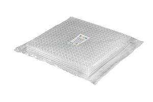 4x Bauplatte transparent 20x20 Noppen, 16x16xcm - Basis für Spie