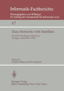 Data Networks with Satellites