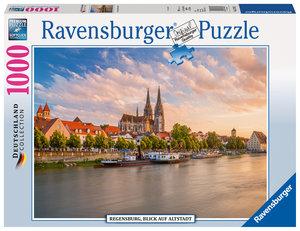 Regensburg, Blick auf die Altstadt