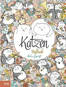 Katzen-Malbuch