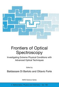 Frontiers of Optical Spectroscopy