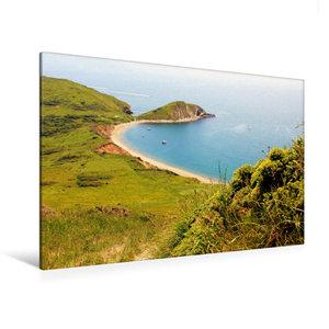 Premium Textil-Leinwand 120 cm x 80 cm quer Worbarrow Bay Dorset