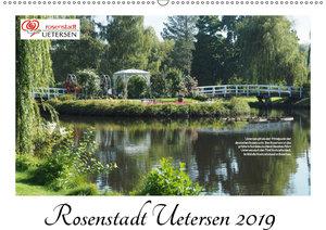 Rosenstadt Uetersen (Wandkalender 2019 DIN A2 quer)