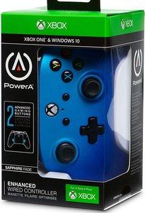 PowerA Wired Controller, Sapphire Fade, für Xbox One und PC, bla