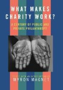 What Makes Charity Work?