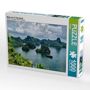 Blick von Tri Top Island 1000 Teile Puzzle quer