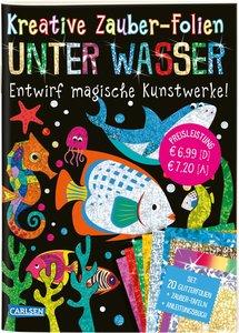 Kreative Zauber-Folien: Unter Wasser: Set mit 10 Zaubertafeln, 2