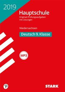 Original-Prüfungen Hauptschule 2019 - Deutsch 9. Klasse - Nieder