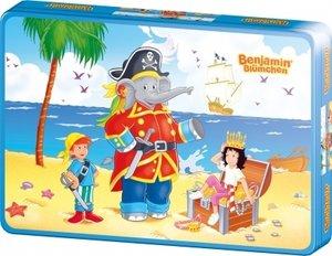 Benjamin Blümchen - Benjamin als Pirat. Puzzle 40 Teile