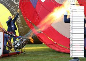 Ballonfahrer Festival Geburtstagskalender