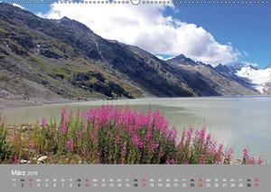 Bergwasser (Wandkalender 2019 DIN A2 quer)
