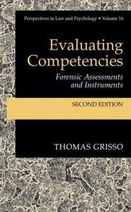 Evaluating Competencies