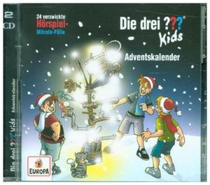Die drei ??? Kids - Adventskalender Relaunch (2Audio-CD\'s)
