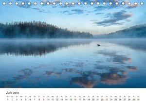 Landschaften und Vögel (Tischkalender 2018 DIN A5 quer)