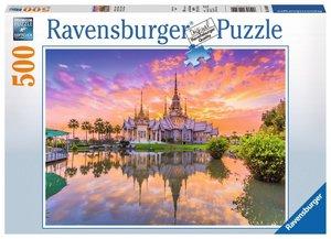 Ravensburger 14649 Sonnenunter. Wat Thai