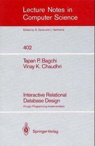 Interactive Relational Database Design