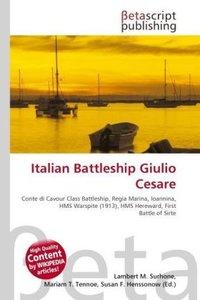 Italian Battleship Giulio Cesare