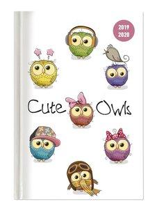 Collegetimer A6 Tag Owls 2019/2020