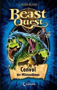 Beast Quest 37. Convol, der Wüstendämon