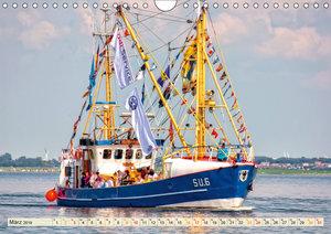 Maritime Augenblicke - Fischkutter (Wandkalender 2019 DIN A4 que