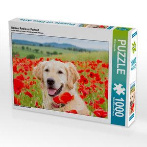 CALVENDO Puzzle Golden Retriever Portrait 1000 Teile Lege-Größe
