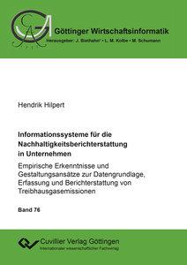 Informationssysteme für die Nachhaltigkeitsberichterstattung in