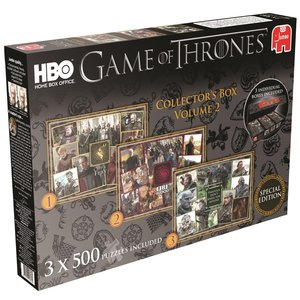 Game of Thrones Sammelbox 2 - 3x500 Teile