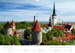 Hafenstädte der Ostsee (Wandkalender 2020 DIN A3 quer)
