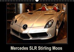 Mercedes SLR Stirling Moos (Calendrier mural 2015 DIN A3 horizon