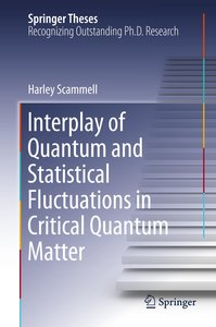 Interplay of Quantum and Statistical Fluctuations in Critical Qu
