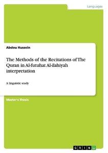 The Methods of the Recitations of The Quran in Al-futuhat Al-il