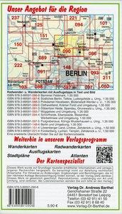 Naturpark Barnim, Wandlitzsee und Umgebung 1 : 35 000. Radwander