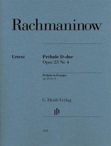 Prélude D-dur op. 23,4