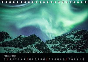 Nordlichtkalender (Tischkalender 2020 DIN A5 quer)