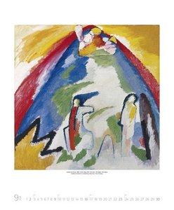 Wassily Kandinsky 2018 Kunst Art Kalender