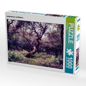 Lorbeerbaum auf Madeira 1000 Teile Puzzle quer