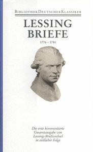 Briefe von und an Lessing 1776 - 1781
