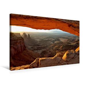 Premium Textil-Leinwand 75 cm x 50 cm quer Mesa Arch, Canyonland