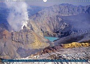 Vulkane und Geysire - Der heiße Atem der Erde (Wandkalender 2019