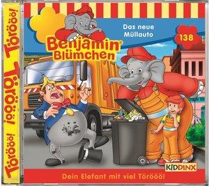 Benjamin Blümchen - Das neue Müllauto, 1 Audio-CD