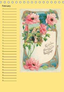 Nostalgic greetings (Table Calendar perpetual DIN A5 Portrait)