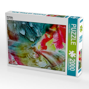 Orchidee 2000 Teile Puzzle hoch